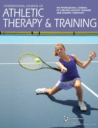 Cover International Journal of Athletic Therapy and Training