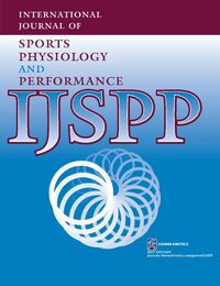 Cover International Journal of Sports Physiology and Performance
