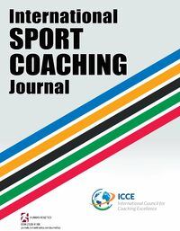 Cover International Sport Coaching Journal