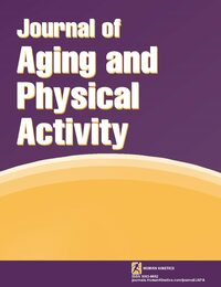 Cover Journal of Aging and Physical Activity