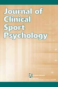 Cover Journal of Clinical Sport Psychology