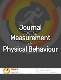 Cover Journal for the Measurement of Physical Behaviour