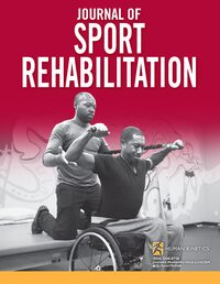 Cover Journal of Sport Rehabilitation