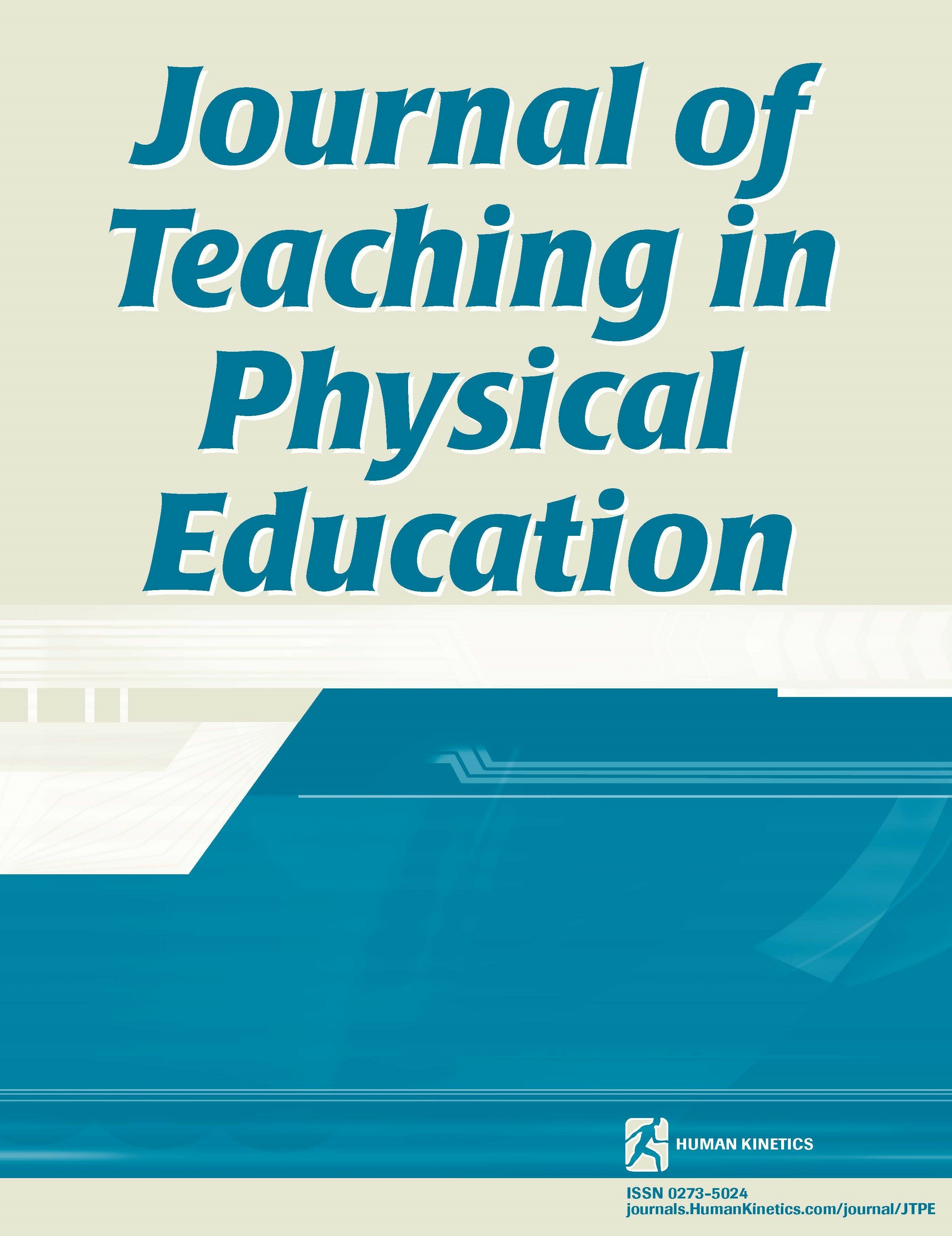 Journal Of Teaching In Physical Education Human Kinetics