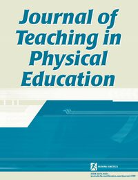 Cover Journal of Teaching in Physical Education