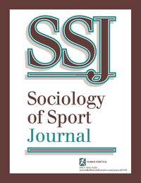 Cover Sociology of Sport Journal