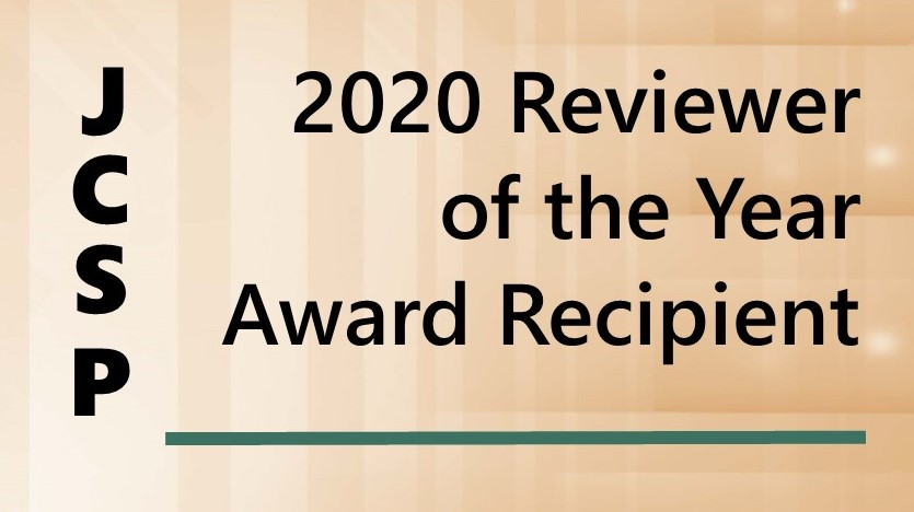 2020 JCSP Reviewer of the Year Award