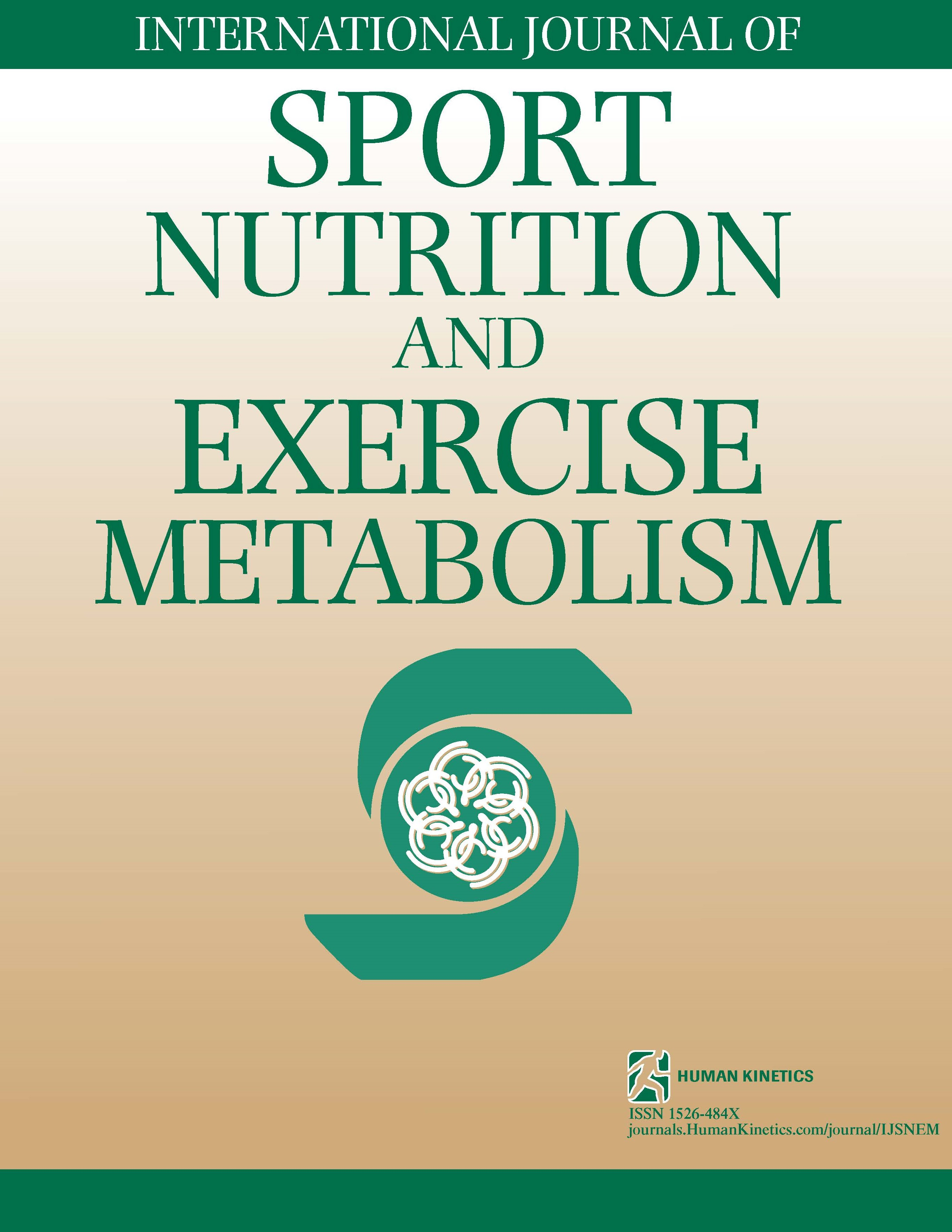International Journal of Sport Nutrition and Exercise Metabolism