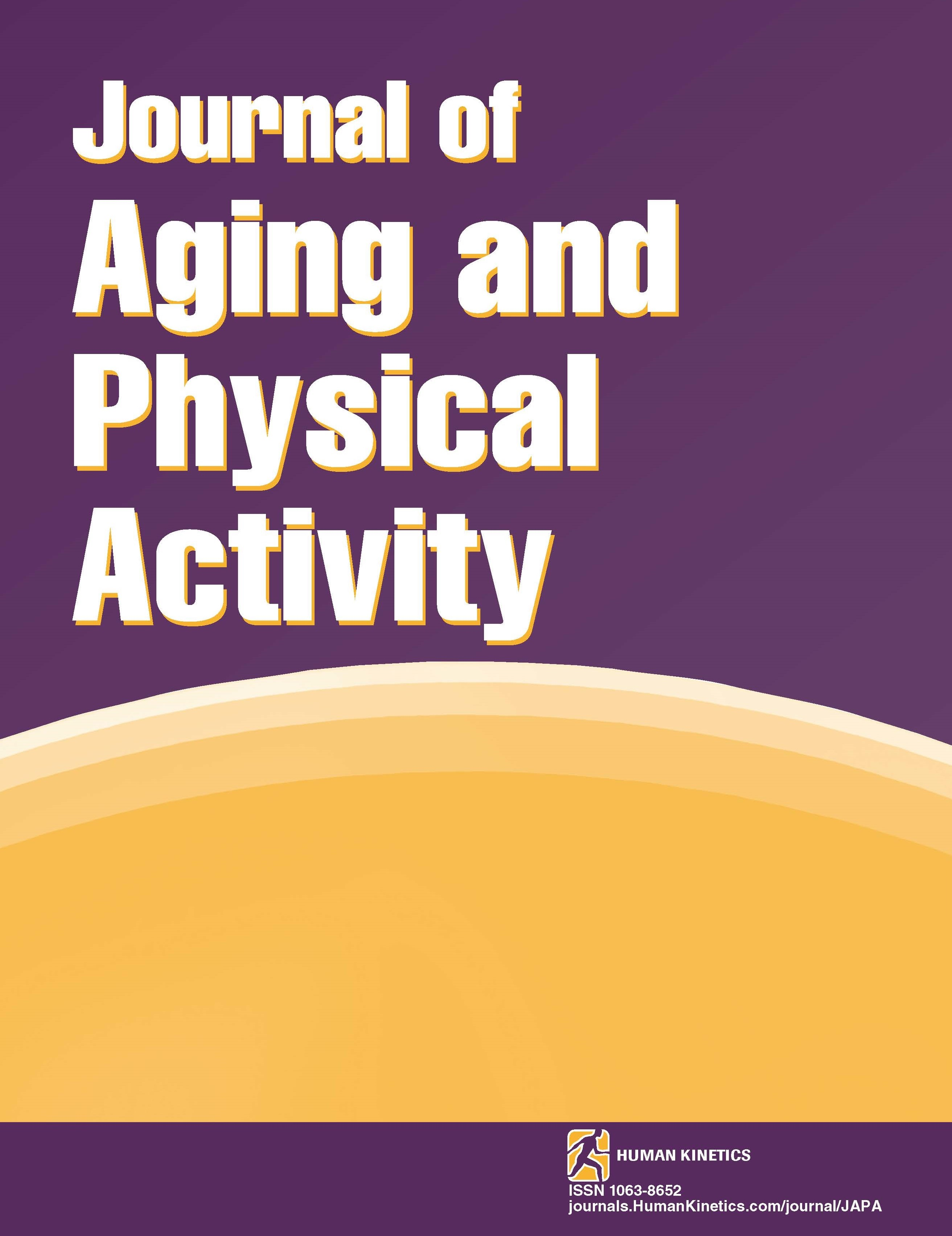 Journal of Aging and Physical Activity