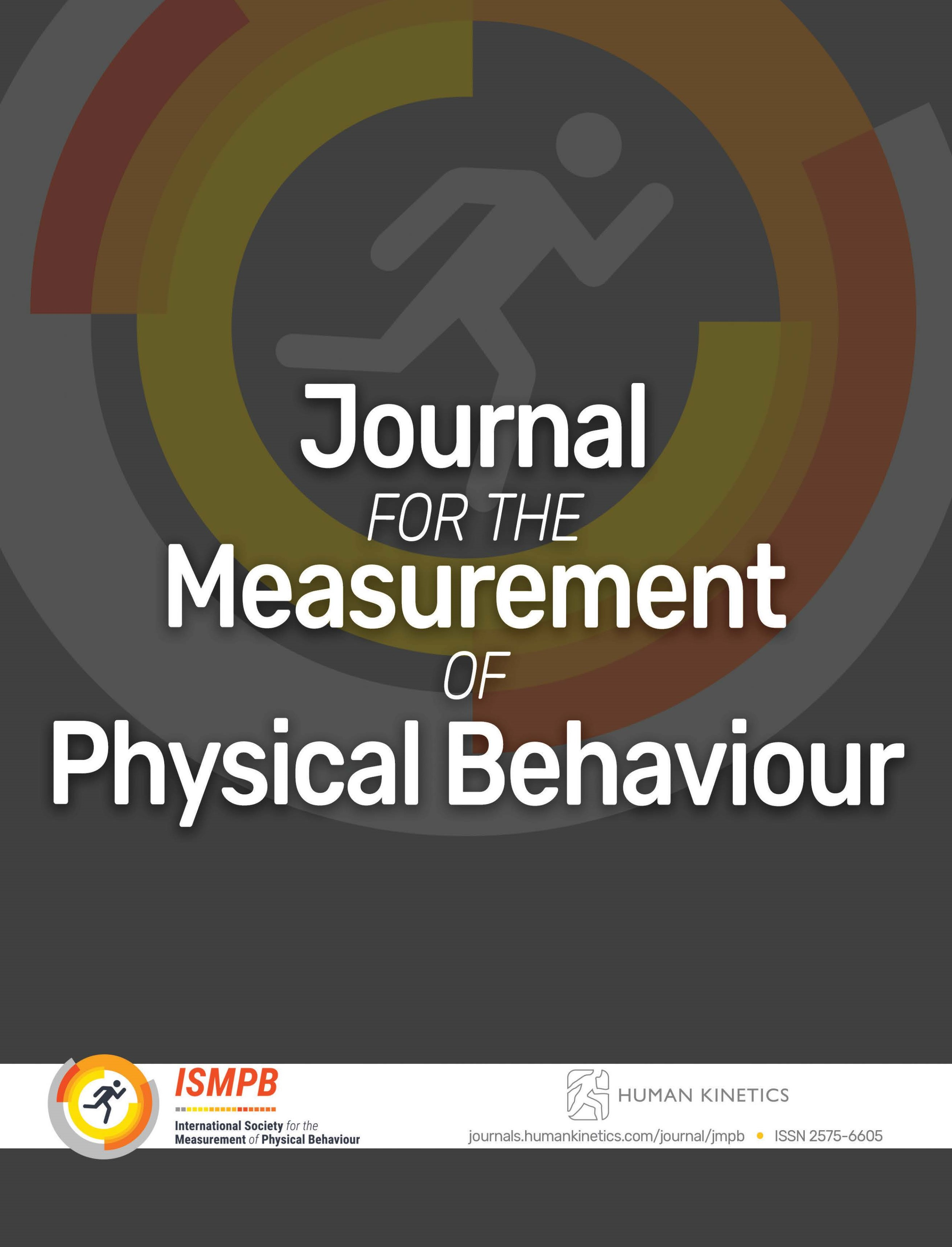 Journal for the Measurement of Physical Behaviour