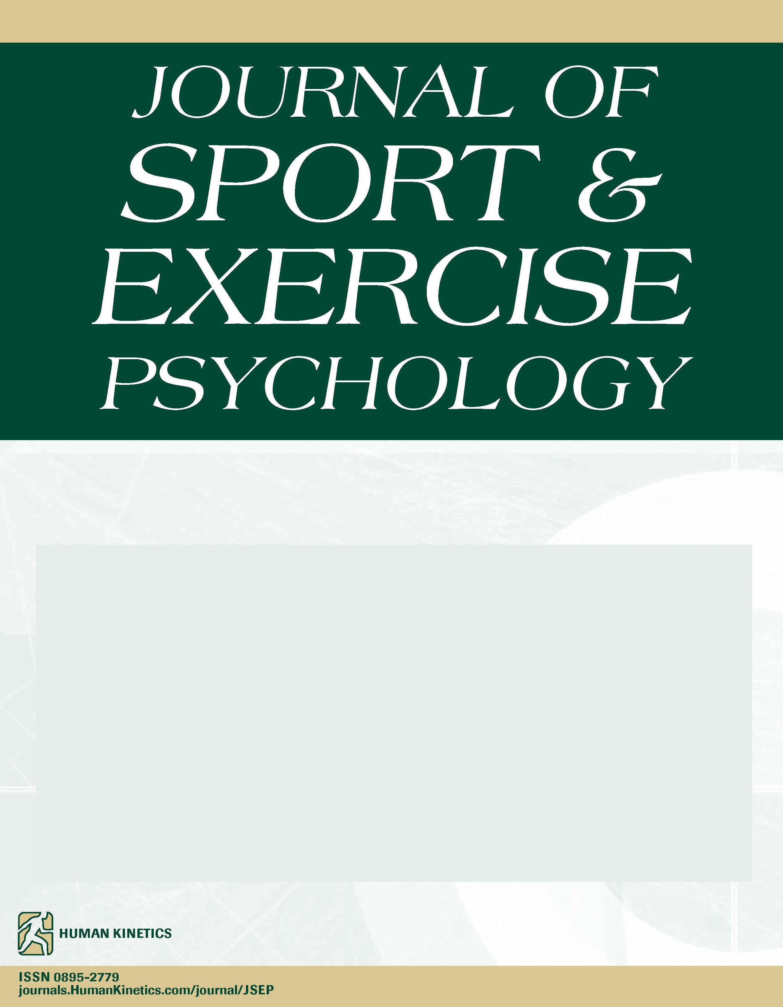 Journal of Sport and Exercise Psychology